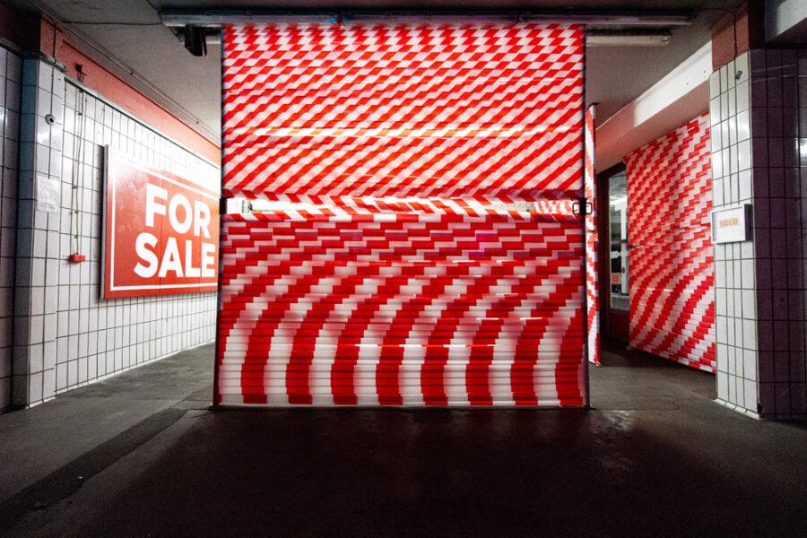 sold out, Ausstellungsansicht Werkstatt Gröninger Hof, Hamburg